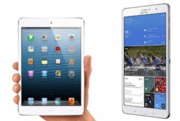 iPad mini 2 vs Samsung Galaxy Tab Pro 8.4 specs look
