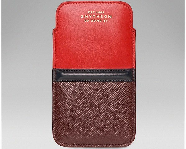 new style ba41f eca2c Best exclusive iPhone 5 and 5S Smythson cases - PhonesReviews UK ...