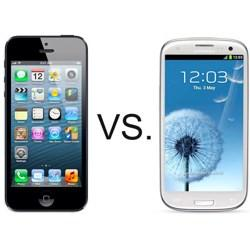 Samsung Galaxy S3 vs iPhone 5: Display Test fracas