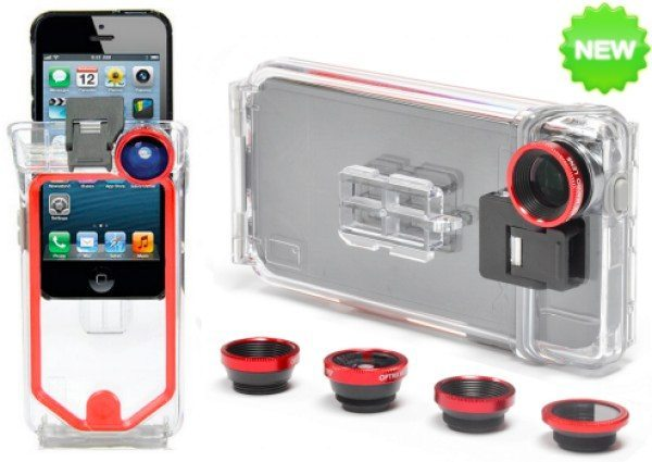 Optrix PhotoProX iPhone 5 case offers waterproofing