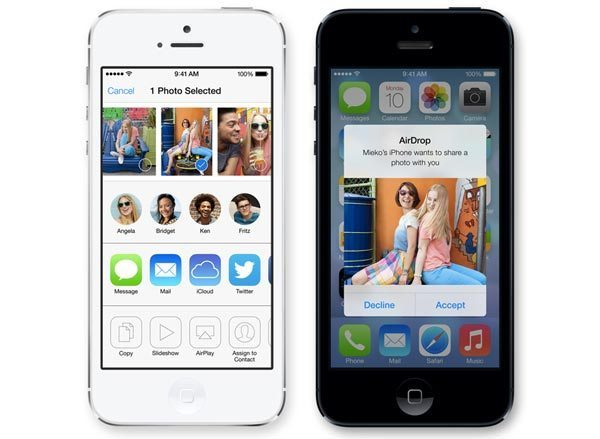 how to transfer photos from iphone to mac ios 7 airdrop features on iphone 5 not 4s 4 1445