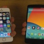 iphone 5s on latest beta vs nexus 5