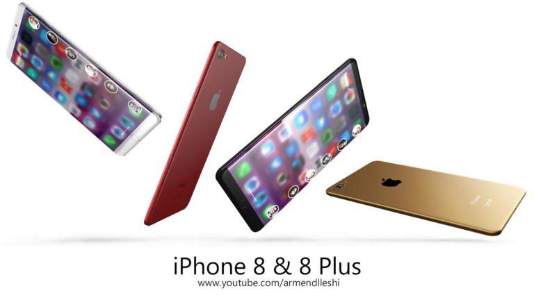 iphone 8 plus edge concept