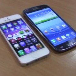 iPhone 5 vs Galaxy S3 video takes a pure and simple look