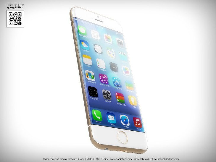 iPhone 6 render martin hajek