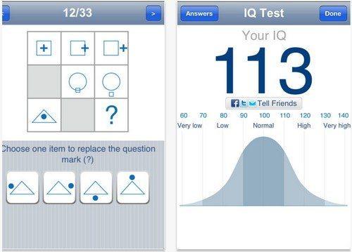 Iq Test App