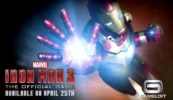 Iron Man 3 first official gameplay trailer for Android & iOS lands