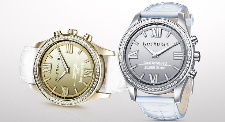 Isaac Mizrahi Smartwatch released in partnership with HP
