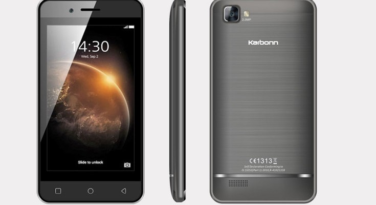 Karbonn Alfa A114 Quad specifications listed before launch