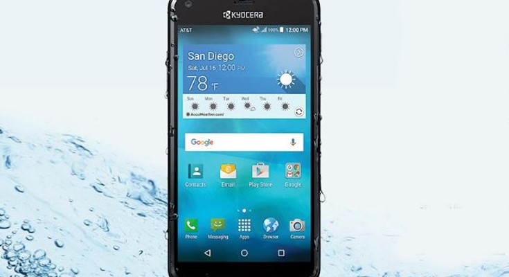 Kyocera Hydro Shore now available through AT&T GoPhone