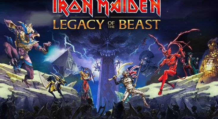 Iron Maiden's Legacy of the Beast game set to launch on Mobiles