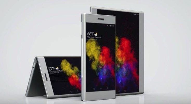 Lenovo shows of the Futuristic Flexible CPlus phone and Folio Tablet