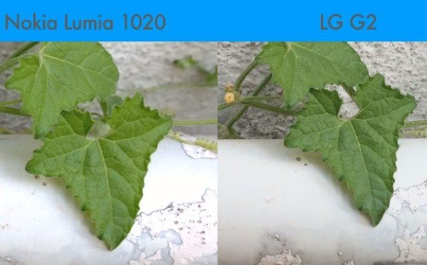 LG G2 vs Nokia Lumia 1020 camera results