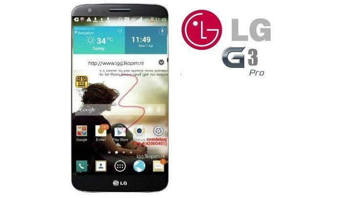 Is there a high-powered LG G3 Pro in the works?