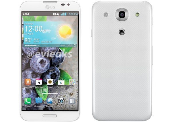 White LG Optimus G Pro for AT&T on the way