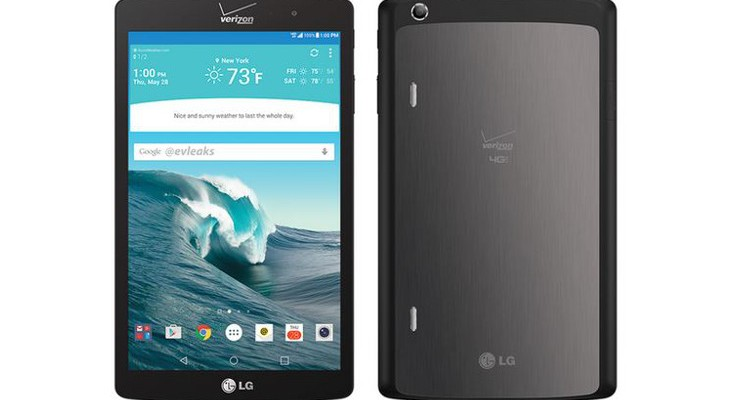 LG G Pad X 8.3 renders show Verizon's new slate