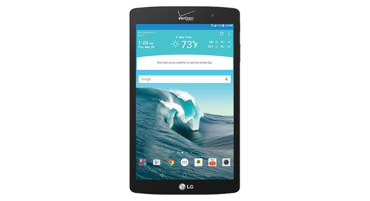 LG G Pad X 8.3 pre-orders begin today from Verizon