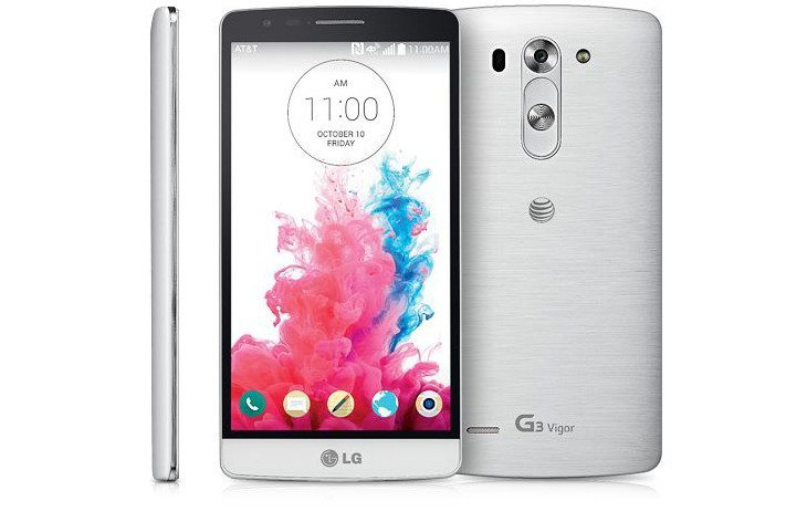 LG G3 Vigor launching at AT&T on September 26th