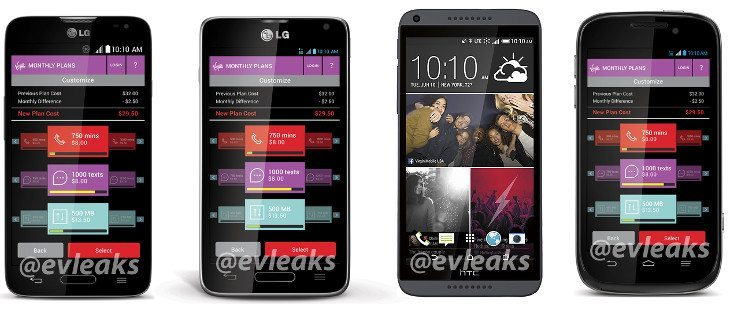 Virgin Mobile USA gets the LG Pulse, HTC Desire 816, ZTE Emblem and LG Unify