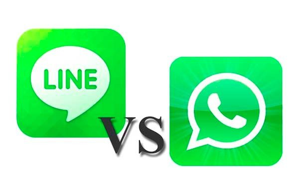 Line app vs WhatsApp evaluated for 2013 chat