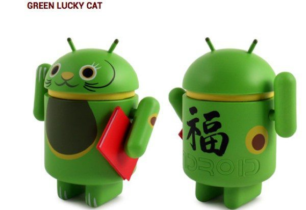 Lucky Cat adorable Android accessories for good fortune