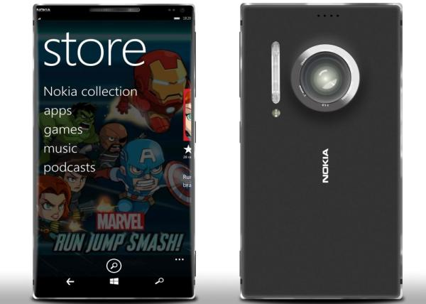Nokia Lumia 1820 design finalized