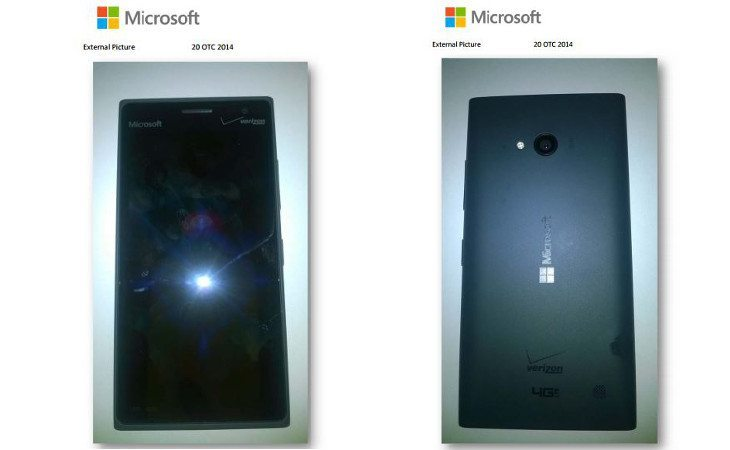 Lumia 735 from Verizon appears at the FCC