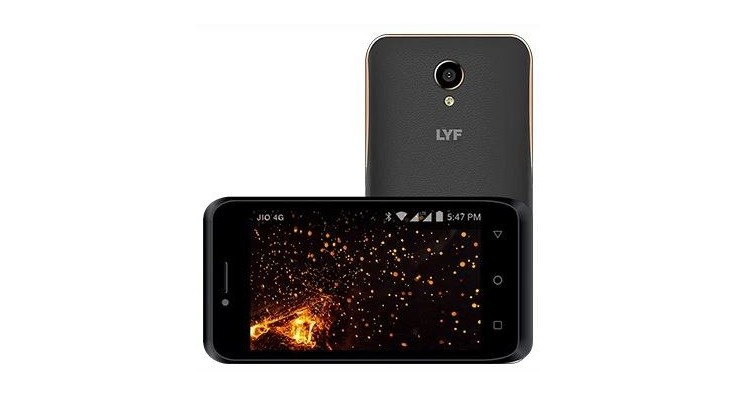 LYF Flame 6 launched for India at Rs. 3,999