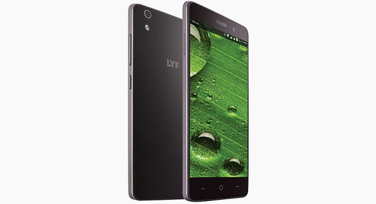The LYF Water 5 is bound for India with 2GB of RAM and VoLTE