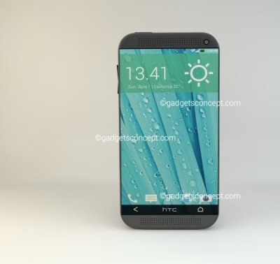 HTC One M9 render shows similar design