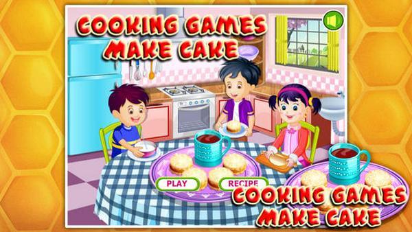 make cake
