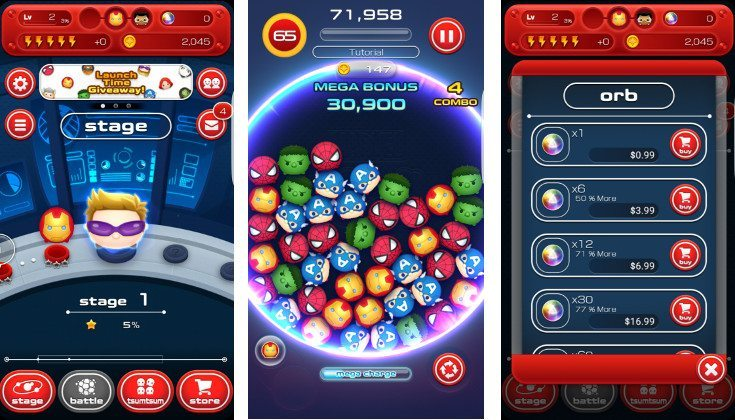 Marvel Tsum Tsum game launches for Android and iOS ...