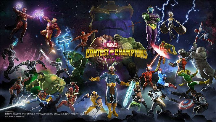 contest of champions mobile game