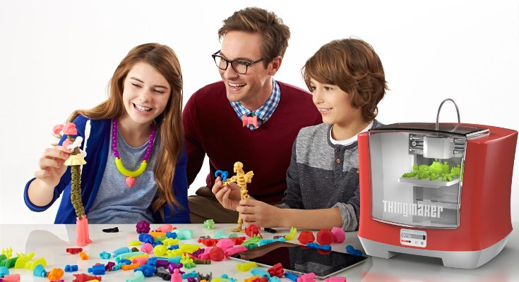 Mattel announces ThingMaker 3D Printer and releases ThingMaker Design App
