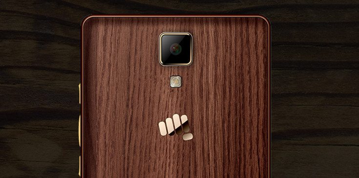 Micromax Canvas 5 Lite Special Edition launched with Wooden Design