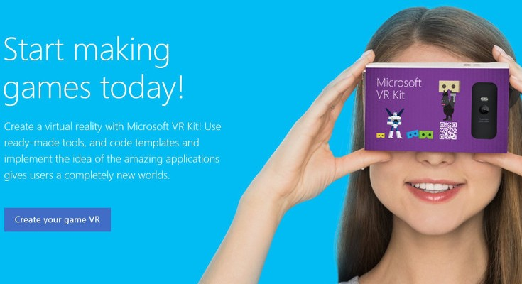 Microsoft VR Kit brings Virtual Reality to Windows Mobile