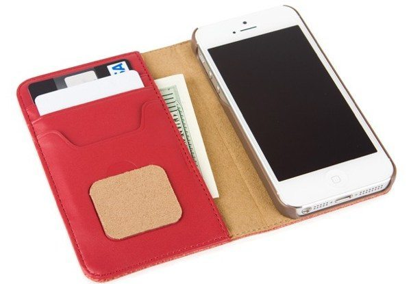 iPhone 5 Moshi Overture Wallet Case Avoids Carrying Both