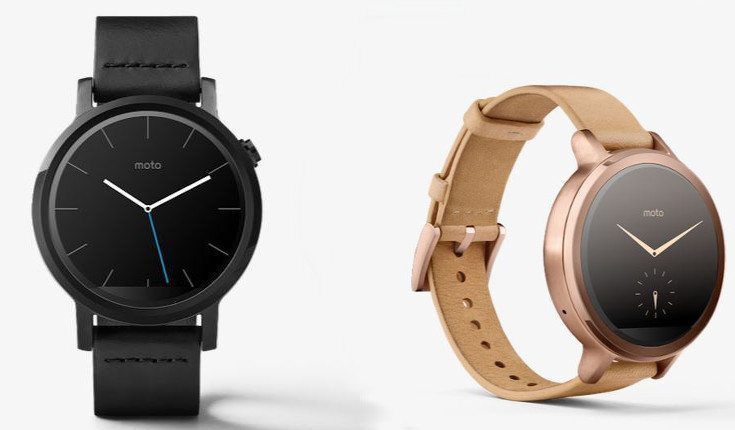 moto 360 small and large