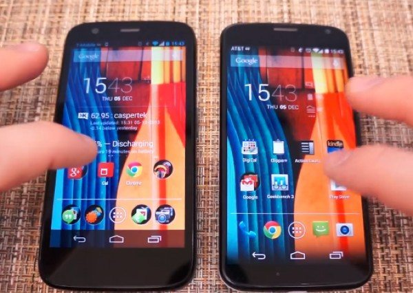 Motorola Moto G vs Moto X in best value review
