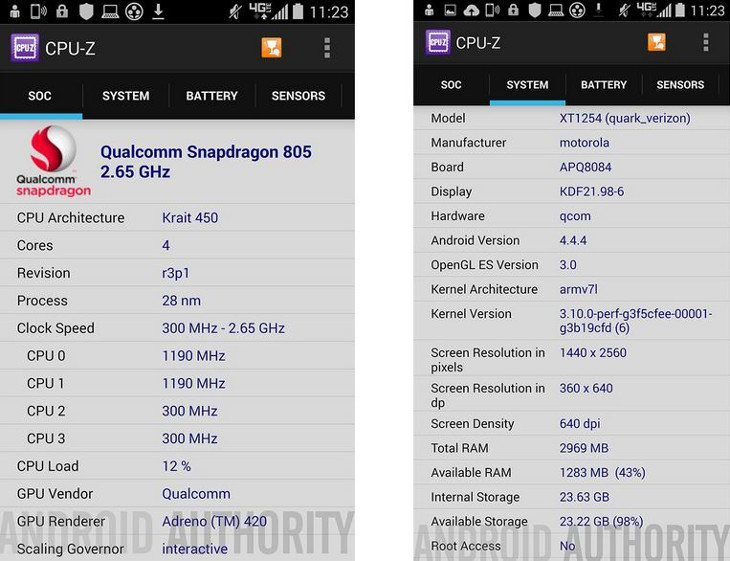 Droid Turbo specs leak show QHD display and Snapdragon 805