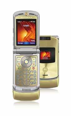 Motorola V3xx Gold