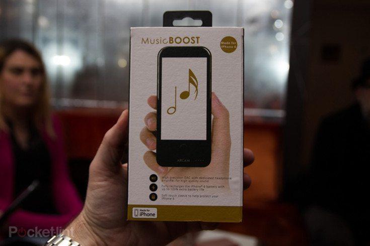 MusicBoost iPhone case