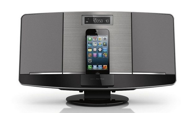 iPhone 5 Lightning speaker docks by Philips