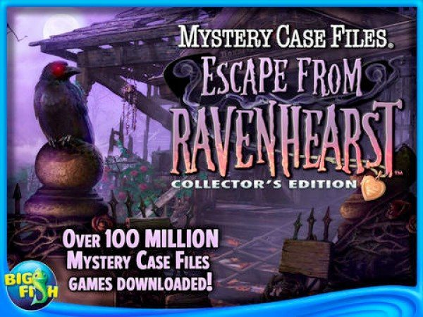 Mystery Case Files: Escape from Ravenhearst Collector's Edition HD arrives
