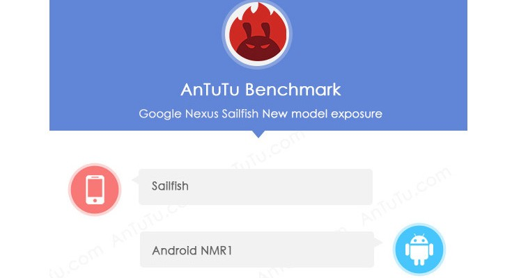 Nexus Sailfish specs leak through AnTuTu listing