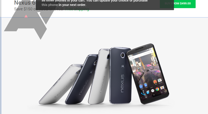 Nexus Protect program spotted on the Google Store