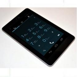 Nexus 7 using Google Voice can make & receive calls