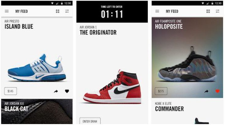 The Nike SNKRS app lands on Google Play