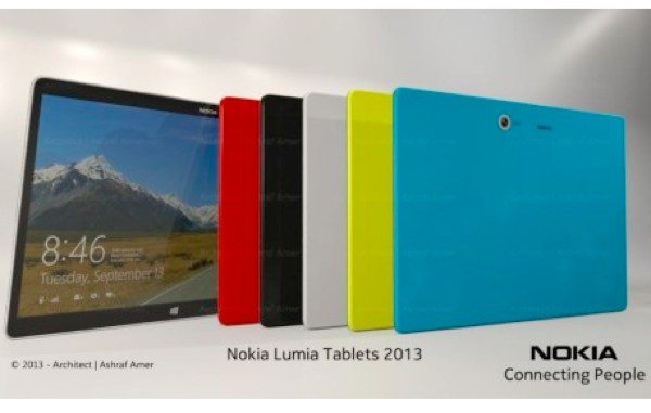 Nokia 12-inch Windows Phone tablet has futuristic specs