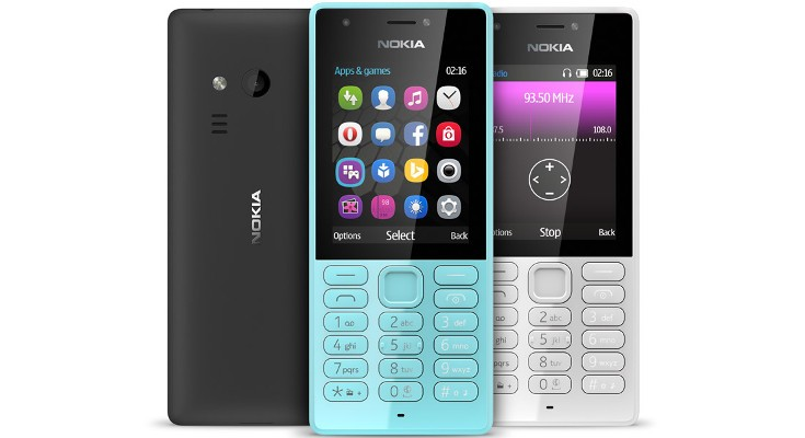 Nokia 216 and Nokia 216 Dual SIM announced for India at Rs. 2,469